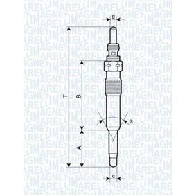 Glühkerzen MAGNETI MARELLI (062900071304) für RENAULT TWINGO Preise