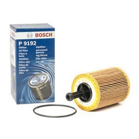 Oliefilter BDE Filter insert van de fabrikant BOSCH 1 457 429 192 tot - 70% korting!