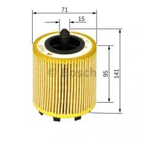 BOSCH Filtr oleju BDE Wkład filtra Art. Nr 1 457 429 192 opłacalnie