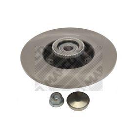 MAPCO Disco de travão Eixo traseiro, Ø: 274mm, Cheio 4043605682284 classificação