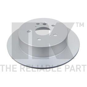 NK Brake discs and rotors 314574