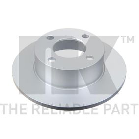 NK Bremsscheibe 314723 für AUDI 80 2.0 E 16V 140 PS kaufen