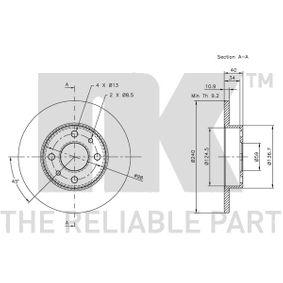 FIAT SEICENTO (187) NK Indicatore direzione laterale 319922 comprare