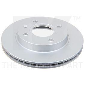 NK Bremsscheibe 312528 für FORD ESCORT 1.4 75 PS kaufen