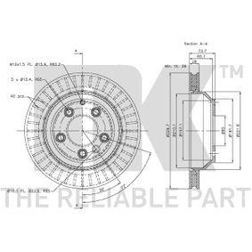 AUDI Q7 (4L) NK Pedal 3147106 bestellen