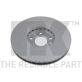 NK Bremsscheibe 402064155R für RENAULT, NISSAN, RENAULT TRUCKS bestellen