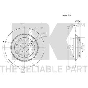 CX-5 (KF) NK Kit correa de transmisión v acanalado 203279