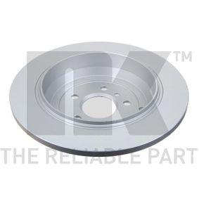 NK Спирачен диск A1644231212 за MERCEDES-BENZ, DAIMLER купете