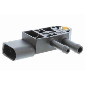 VEMO Senzor, tlak vyfuk.plynu V10-72-1207