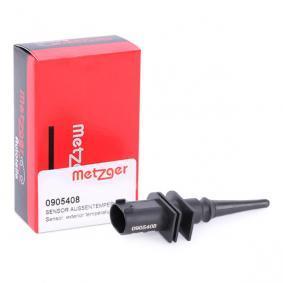 METZGER Sensor, Außentemperatur 0905408
