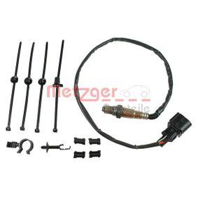 Lambdasonde METZGER Art.No - 0893181 OEM: 1K0998262G für VW, AUDI, SKODA, SEAT kaufen