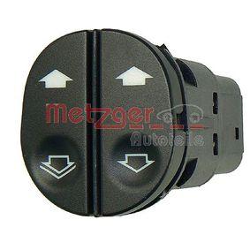 METZGER Botones elevalunas 0916206