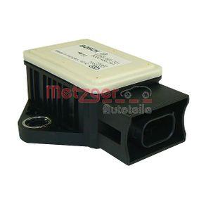 Sensor, Längs- / Querbeschleunigung 0900634 METZGER