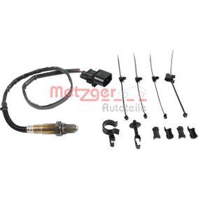 Lambdasonde METZGER Art.No - 0893177 OEM: 077906265N für VW, AUDI, SKODA, SEAT kaufen