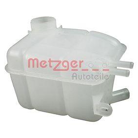METZGER Compensatiereservoir, koelmiddel Zonder deksel 2140056 van originele kwaliteit