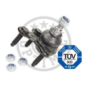 Trag- / Führungsgelenk OPTIMAL Art.No - G3-956 OEM: 1K0407366E für VW, AUDI, RENAULT, SKODA, SEAT kaufen