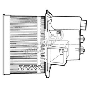 Heater fan motor DEA09060 DENSO
