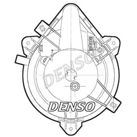 DENSO Interior blower DEA09044