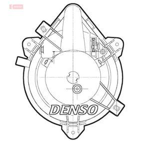Heater fan motor DEA09044 DENSO