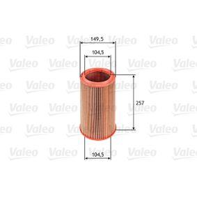 Luftfilter VALEO Art.No - 585639 OEM: 60815415 für FIAT, ALFA ROMEO, LANCIA kaufen