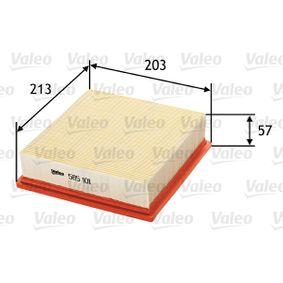 VALEO Luftfilter (585101) niedriger Preis