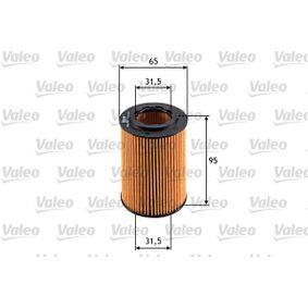 Oil filter VALEO (586555) for HONDA CIVIC Prices