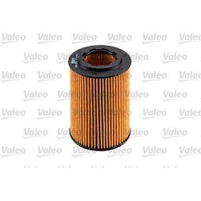 Oil filter (586555) producer VALEO for HONDA CIVIC VIII Hatchback (FN, FK) year of manufacture 09/2005, 140 HP Online Shop