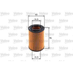 Filtro de aceite VALEO (586555) para HONDA CIVIC precios