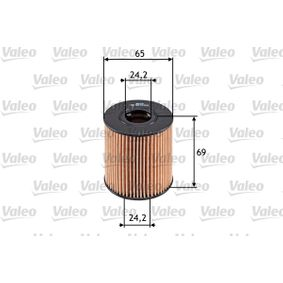 VALEO Filtro recirculación de gases 586503