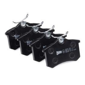 1H0698451 für VW, AUDI, FIAT, PEUGEOT, SKODA, Bremsbelagsatz, Scheibenbremse VALEO (598180) Online-Shop