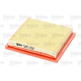 Φίλτρο αέρα VALEO (585097) για NISSAN MICRA τιμές
