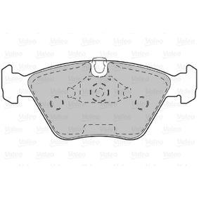 VALEO Bremsbelagsatz, Scheibenbremse 34111163953 für BMW bestellen