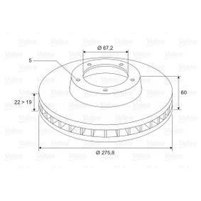 VALEO Bremsscheibe A6384210112 für MERCEDES-BENZ bestellen