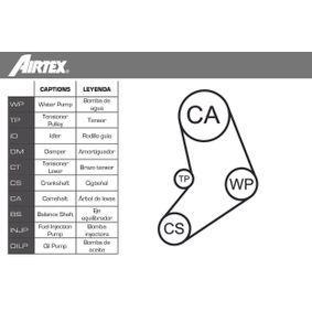 Kraftstoffpumpe AIRTEX Art.No - E8312 OEM: 8983625 für OPEL, FORD kaufen