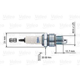 Запалителна свещ VALEO Art.No - 246861 OEM: 7700500000 за RENAULT, DACIA, RENAULT TRUCKS купете