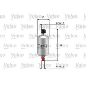 VALEO Filtro combustibile 587210