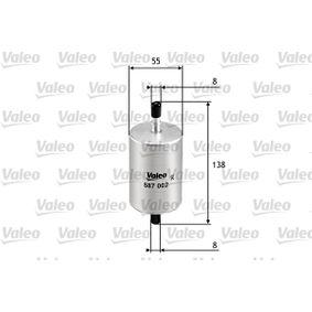 VALEO RENAULT TWINGO Kraftstofffilter (587002)