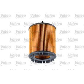 Filtro de aceite (586563) fabricante VALEO para OPEL Vectra C Berlina (Z02) año de fabricación 03/2003, 175 CV Tienda online