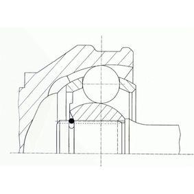SPIDAN Gelenksatz, Antriebswelle 321498103CX für VW, AUDI, SKODA, SEAT bestellen