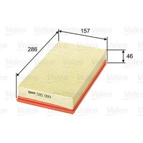 Luftfilter VALEO Art.No - 585099 OEM: 1050705 für FORD kaufen