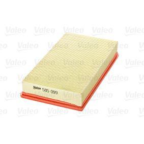 VALEO Luftfilter 1050705 für FORD bestellen