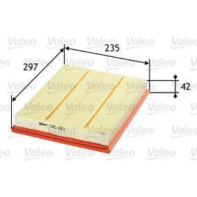 VALEO Въздушен филтър (585013) на ниска цена