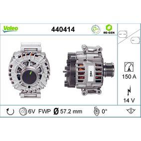Generator VALEO Art.No - 440414 OEM: 06H903016S für VW, AUDI, SKODA, SEAT kaufen