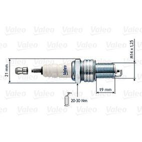 Запалителна свещ VALEO Art.No - 246857 OEM: 169018110 за MAZDA, MERCURY купете