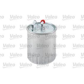 Горивен филтър (587509) производител VALEO за MERCEDES-BENZ M-класа (W164) година на производство на автомобила 07.2005, 224 K.C. Онлайн магазин
