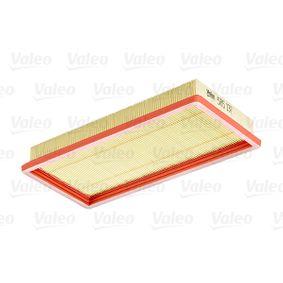 Filtro de aire VALEO 585137 populares para FIAT STILO 1.4 16V 95 CV
