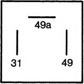AUDI COUPE 2.3 quattro 134 PS ab Baujahr 05.1990 - Blinkerrelais (4DB 003 750-661) HELLA Shop