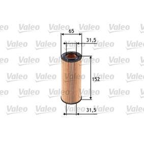 Ölfilter VALEO (586545) für BMW 5er Preise