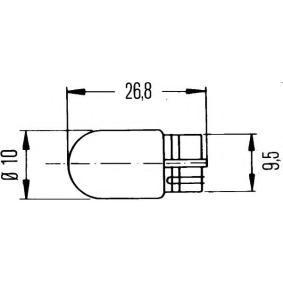 Крушка с нагреваема жичка 8GP 003 594-128 онлайн магазин