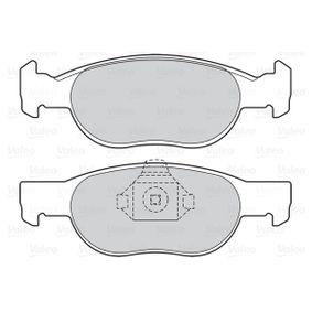 Brake wear sensor 598605 VALEO